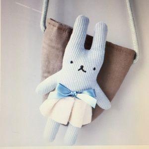 Other - Kids Bunny Rabbit Crossbody Bag, Blue